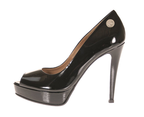 Hard Candy Open-Toe Platform Pump