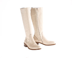 Vittoria White Deer Riding Boot