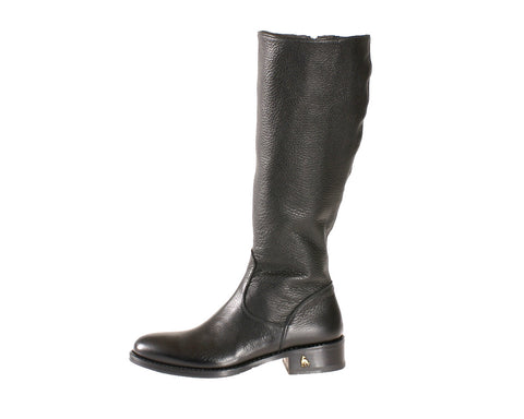 Vittoria Black Deer Riding Boot
