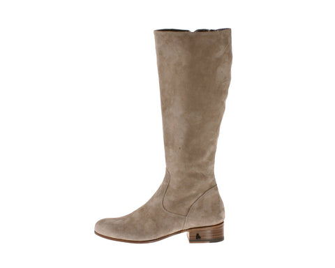 Vittoria Sand Suede Riding Boot