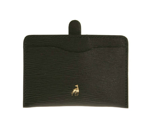 Card Holder Black Calfskin