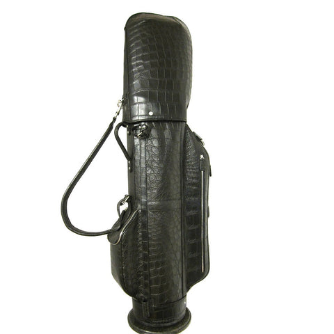 Golf Bag Black Alligator
