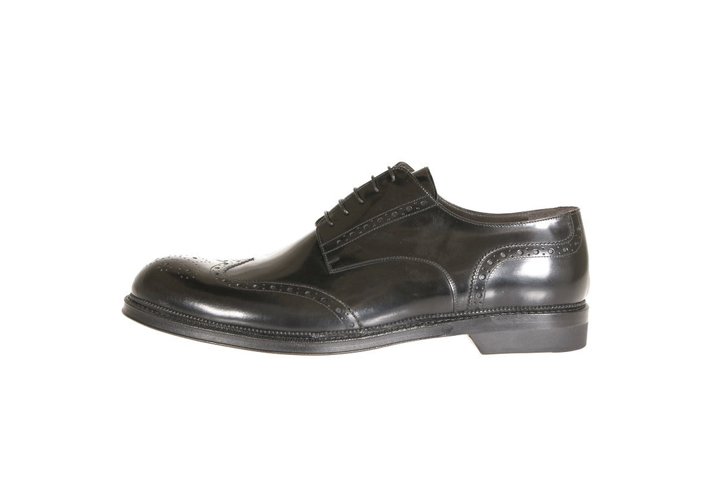 Best Formal Finest Luxury Italian Man Black Brogue Shoes (7)