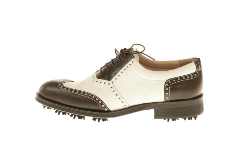 Verona Calf Deer Skin Golf Shoes