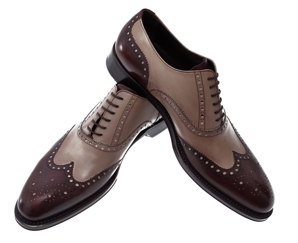 S Men Bicolor Shoes