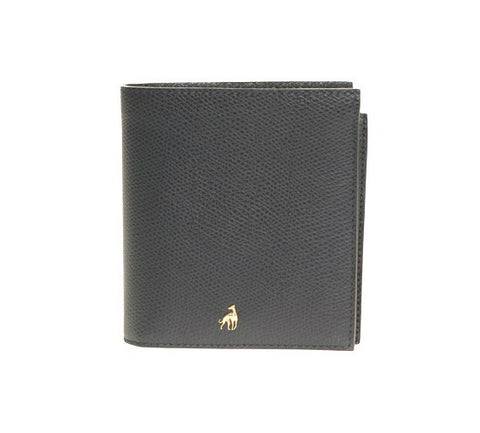 Men's Wallet Blue Calfskin Dolphin