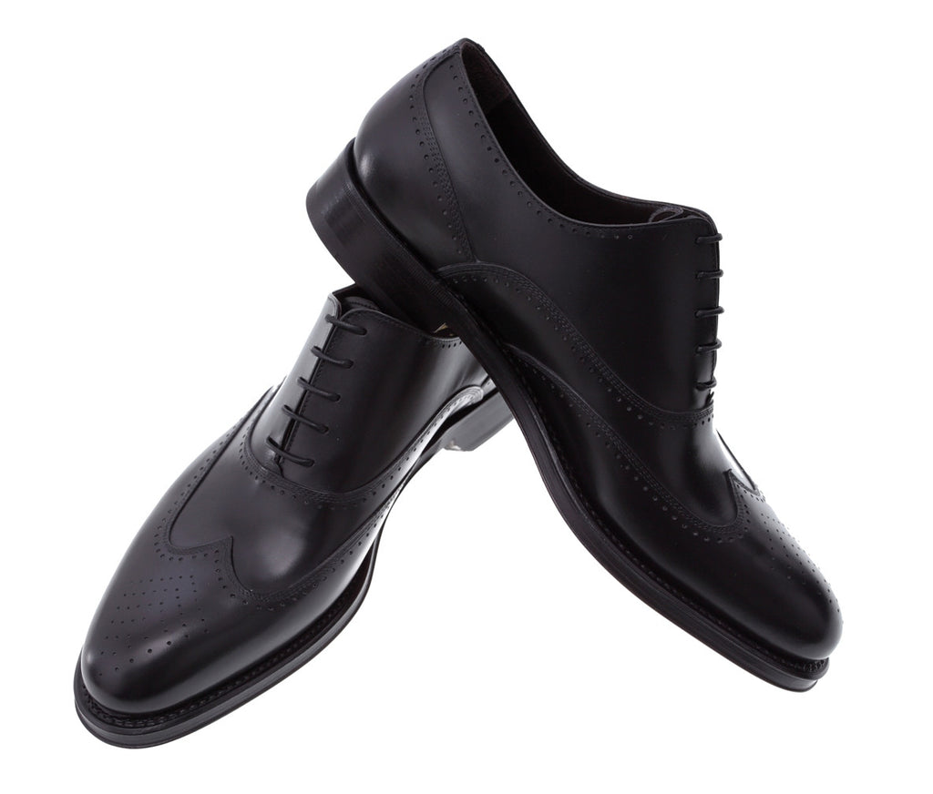Toronto Buy Online Men's Black Dress Shoes Handmade in Italy
