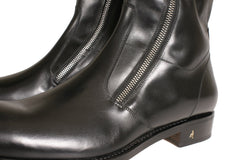Buy Online Mens Shoes | Men's Black Leather Ankle Boots NYC