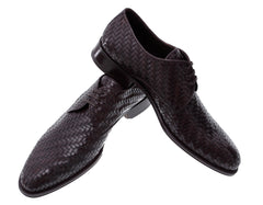 Buy Men's Shoes Online Dress Elegant  Woven Leather Formal Italian Shoes