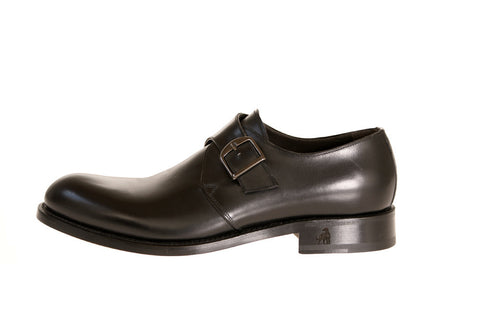Treno Calfskin Monk-Strap Shoes