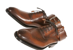 Matching Bespoke Shoes and Belt Combination for men