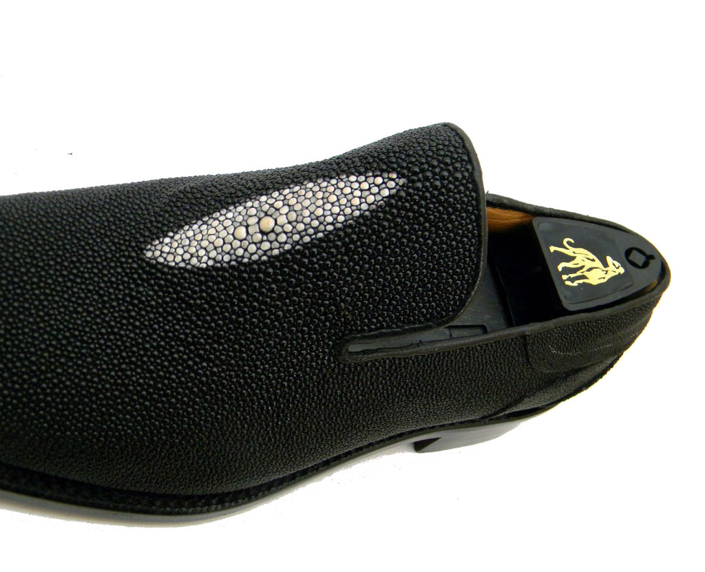 Nyc bespoke shoes stingray leather loafers handmade for What is bespoke leather