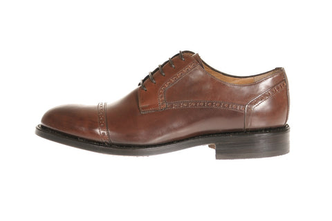 Calabria Shell Cordovan Leather Derby Shoes