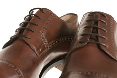 Brown Leather Bespoke Shoes for Men