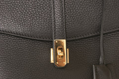 Firenze Black Calf Leather Bag Last Call