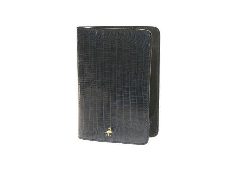 Passport Holder Blue Reptile