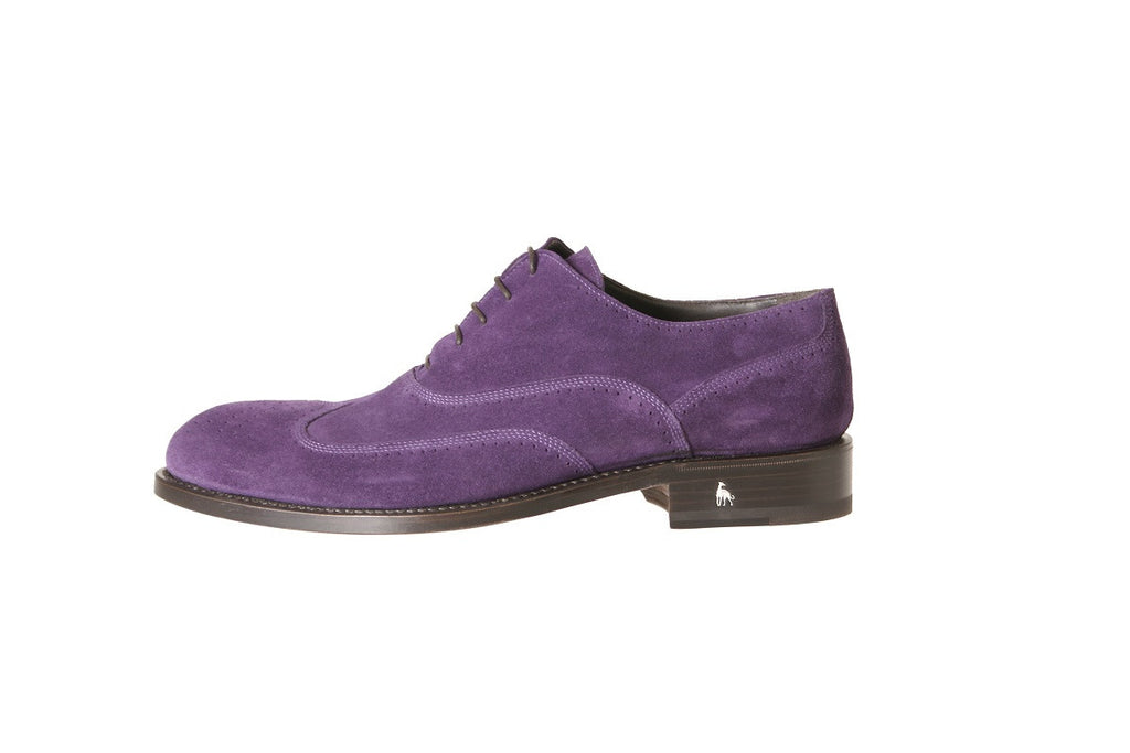Purple Men's Brogue Dress Shoes Online