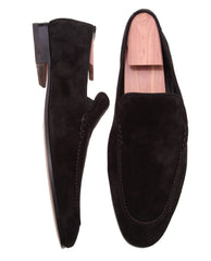 Best Finest Luxury Buy Soft Black Penny Loafer For Men's Made in Italy