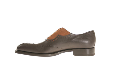 Bologna Deer and Calf Oxford Shoes