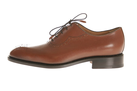 Naples Grained Calfskin Oxford Shoes