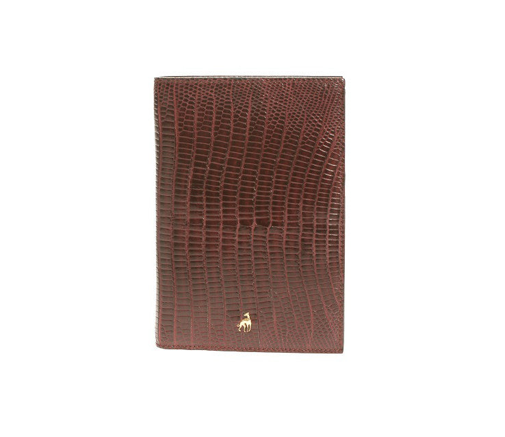 Wallet Bordeaux Reptile