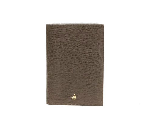 Wallet Dark Brown Calfskin Dolphin