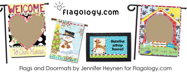 Decorative and Custom Flags at Flagology