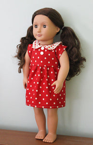 Make a Friend Doll's Wardrobe Sewing Pattern - PDF -Sewing Pattern by Jennifer Jangles