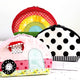 Clamshell Bags Sewing Pattern - Camper, Rainbow, and Undecorated by Jennifer Jangles