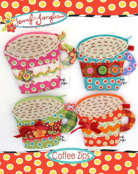 Coffee Coin Purse Pattern