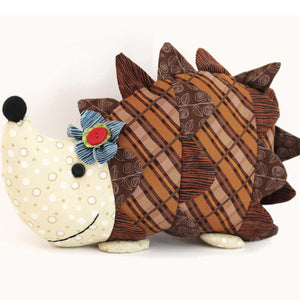 Daisy Hedgehog Softie Sewing Pattern by Jennifer Jangles