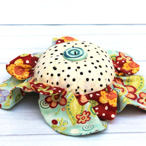 Daisy Pincushion Sewing Pattern by Jennifer Jangles