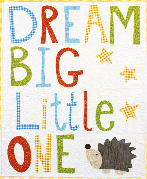 PDF Dream Big Applique Quilt Pattern