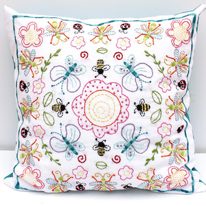 Embroidery Pattern - Flowers and Insects