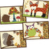 A Walk in the Woods Fall Place Mat Applique Sewing Pattern