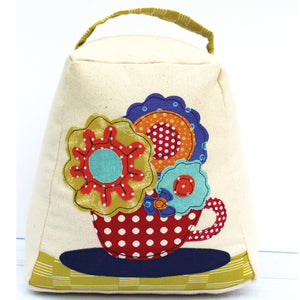 Floral Doorstop Sewing Pattern by Jennifer Jangles