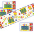 Happy Birthday Table Runner and Place Mats Sewing Pattern