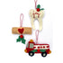 Fireman, Nurse, and Dentist Felt Holiday Ornaments Sewing Pattern