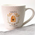 Honey Bee Tea Co. Ceramic Mug (Hive + Wheat)