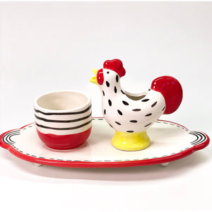 Rooster Watering Animal Set - Plant Keepers