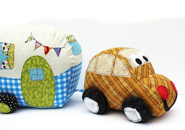 Zoom Zoom Car Softie PDF Pattern