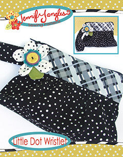 PDF Little Dot Wristlet