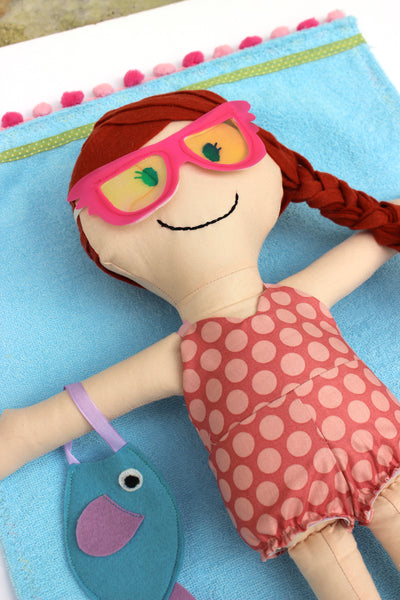 Make a Friend Megan Mermaid Doll and Accessories Sewing Pattern - PDF