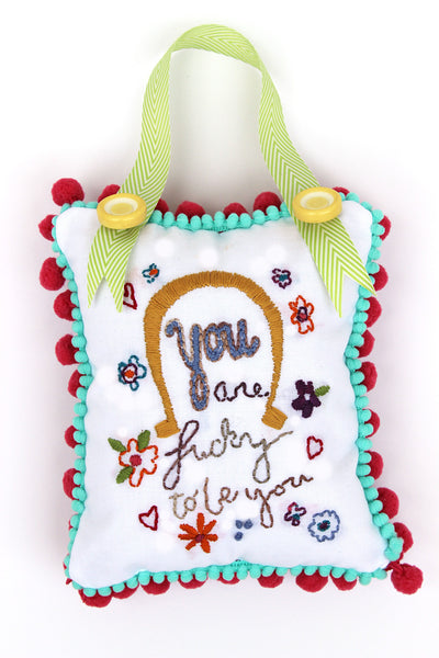 PDF Embroidery Pattern - You Are Lucky