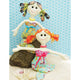 Lucy + Millie Mermaid Dolls Sewing Pattern by Jennifer Jangles