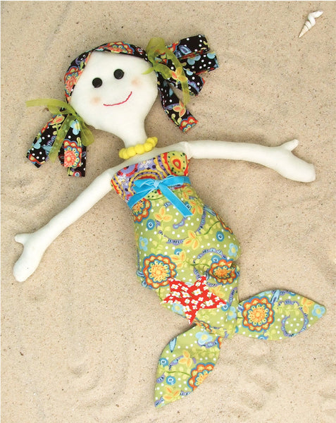 PDF Lucy and Mille Mermaid Dolls Sewing Pattern