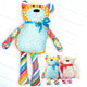 Mr. Socks Stuffed Bear Sewing Pattern