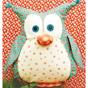 Okey Dokey Owl Softie - PDF -Sewing Pattern by Jennifer Jangles