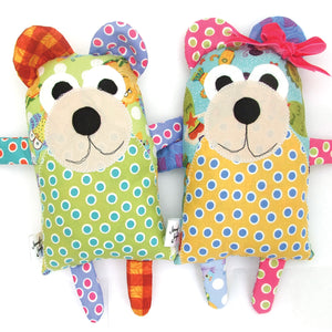 Quincy and Maggie Bear Softie Sewing Pattern - PDF -Sewing Pattern by Jennifer Jangles