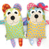 Quincy and Maggie Bear Softie Sewing Pattern